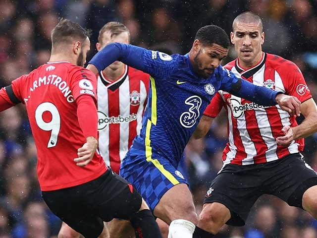 Video bóng đá Chelsea - Southampton: Thẻ đỏ bước ngoặt, 5 phút định đoạt (Vòng 7 Ngoại hạng Anh)