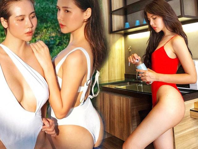 """Phu nhân TGĐ tập đoàn nghìn tỷ là hot girl Hà Nội, khiến dân tình """"mỏi mắt"""" vì body sexy"""
