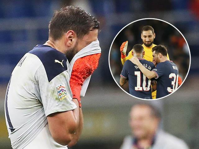 Thủ môn Donnarumma bị fan chửi rủa thậm tệ ở trận Italia thua Tây Ban Nha