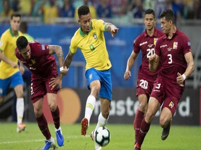 Video bóng đá Venezuela - Brazil: Ngược dòng đỉnh cao, ngôi đầu vững chắc (Vòng loại World Cup)