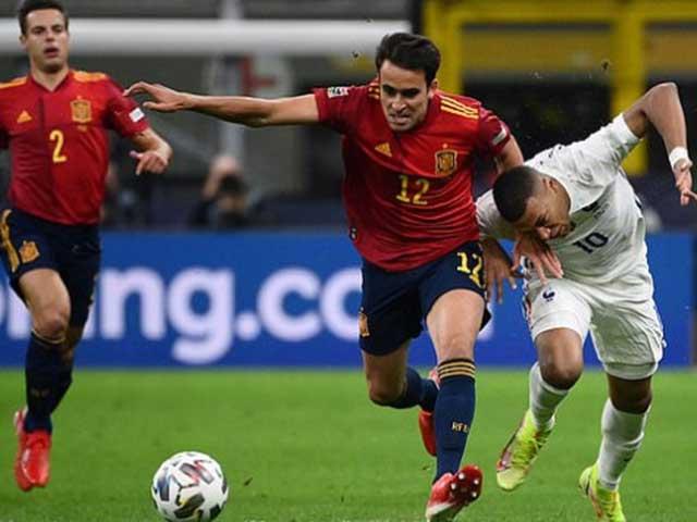 Video bóng đá Tây Ban Nha - Pháp: Siêu phẩm bước ngoặt, ngược dòng đoạt ngôi vương (Chung kết Nations League)