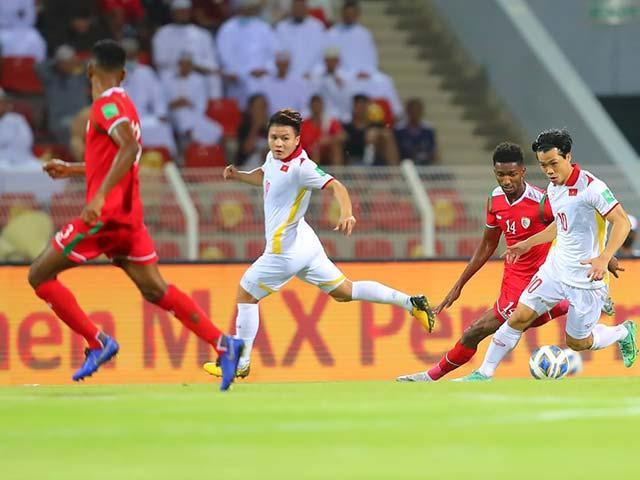 Video bóng đá Oman - ĐT Việt Nam: Tiến Linh mở điểm, bàng hoàng hiệp 2 & VAR